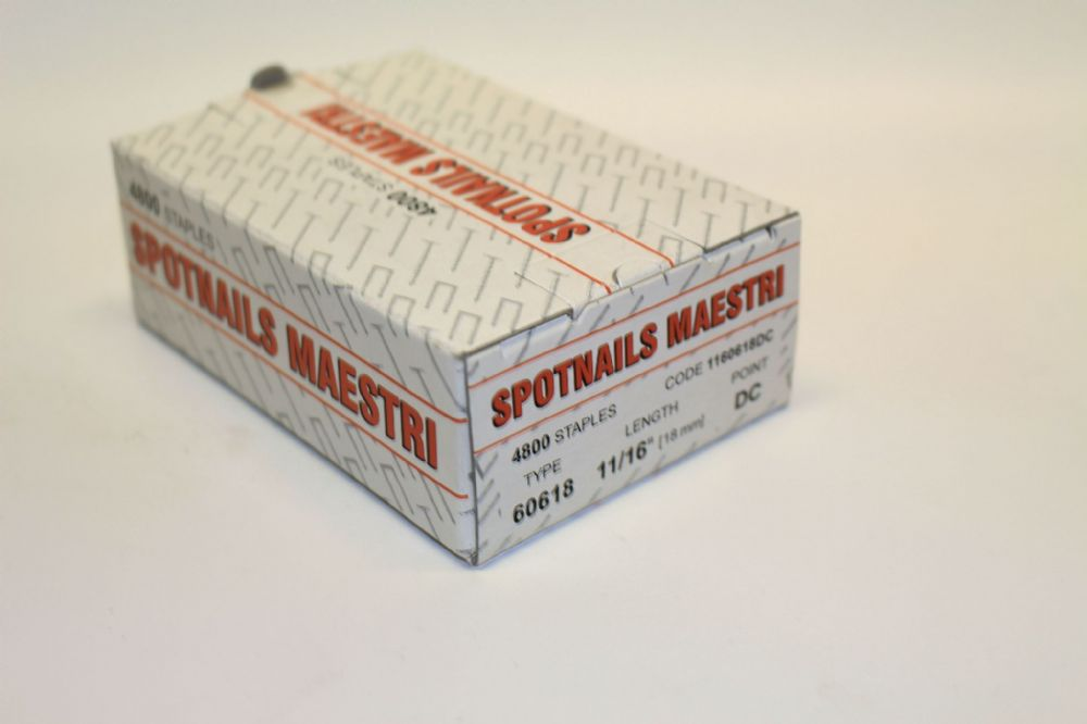 Maestri 606 18mm Staples RWS061B